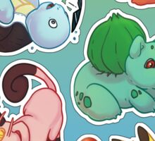POKEMON - 1st Gen Sticker