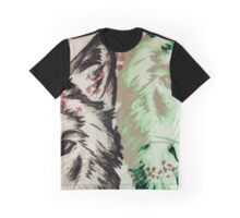 Wolf pair Graphic T-Shirt