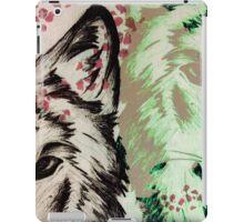 Wolf pair iPad Case/Skin