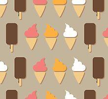 Ice cream background by BlueLela