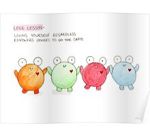Doodle Love - Love empowers Poster