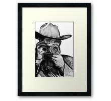 Western Rangefinder Raw Framed Print
