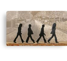 The Beatles ~ Abbey Road Canvas Print