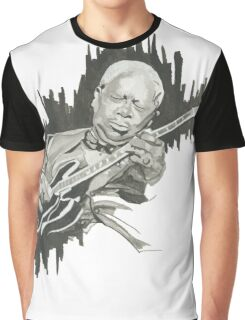 The BB King Blues Guitar Tribute  Graphic T-Shirt