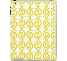 Yellow elegant pattern iPad Case/Skin