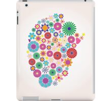 Abstract human brain, creative iPad Case/Skin
