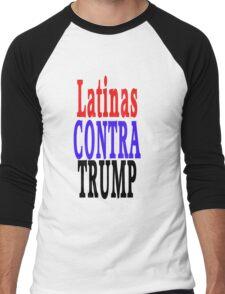 Latinas Contra Trump Men's Baseball ¾ T-Shirt