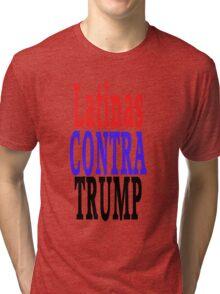 Latinas Contra Trump Tri-blend T-Shirt