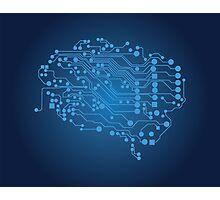 Human brain, logical thinking Photographic Print