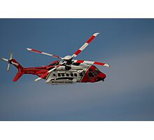 Sikorsky S-92 - Rescue 118 Photographic Print