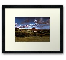 Four Tree Hill Framed Print