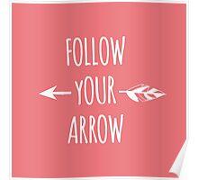 Follow Your Arrow Poster