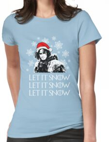 Let it snow - Christmas  Womens Fitted T-Shirt