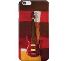Paul Erdos Guitar iPhone Case/Skin