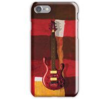 Paul Erdos Guitar iPhone Case/Skin