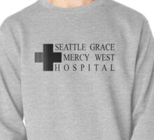 Seattle Grace Mercy West Hospital Logo - Black Pullover