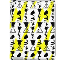 Harry Potter Book Collection Symbols With Scar iPad Case/Skin