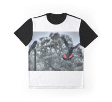 Major Mitchell Black & Red Cockatoos Graphic T-Shirt