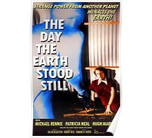 The Day The Earth Stood Still 1951 Poster Poster