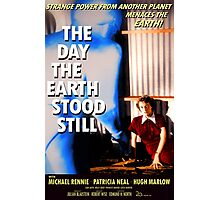The Day The Earth Stood Still 1951 Poster Photographic Print