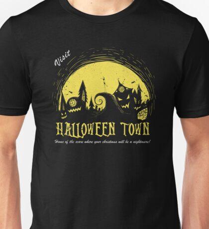 Visit Halloween Town Unisex T-Shirt