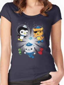 Octonauts, to your stations! Women's Fitted Scoop T-Shirt
