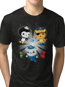 Octonauts, to your stations! Tri-blend T-Shirt