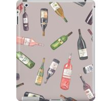 Wine bottles iPad Case/Skin