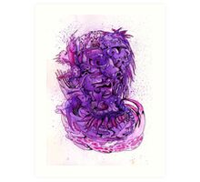 """Purple Biomass"" Art Print"