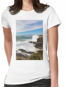 Godrevy High Tide Womens Fitted T-Shirt