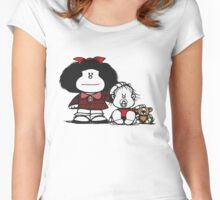 Brother's Women's Fitted Scoop T-Shirt