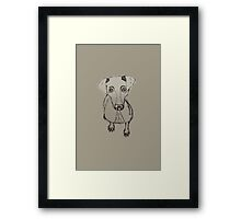 Always a Loyal Follower  Framed Print