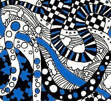 Zendoodle Orb- Blue by momboy