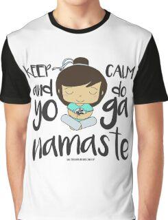 YOGI GIRL VINYL STICKER Graphic T-Shirt