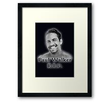 Walker RIP Framed Print