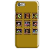 TMNT 16 bit textured iPhone Case/Skin