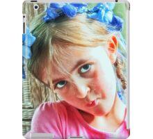 A Floral Crown iPad Case/Skin
