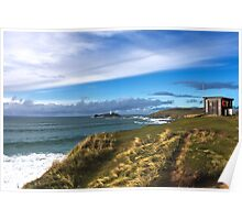Godrevy Lifeguard Hut Poster