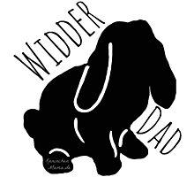 Widder Dad Photographic Print