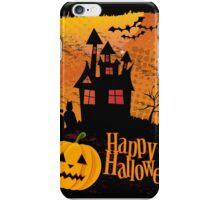 Halloween background iPhone Case/Skin