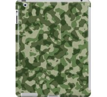 Military camouflage pattern iPad Case/Skin