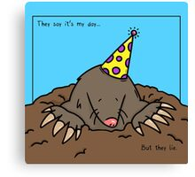 Mole Day Canvas Print