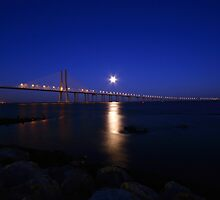 Bridge Moonlight by Nuno Pires