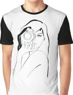 photographer girl Graphic T-Shirt