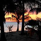ISLAND SUNSET - MOZAMBIQUE by Magaret Meintjes