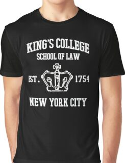 king's college Graphic T-Shirt