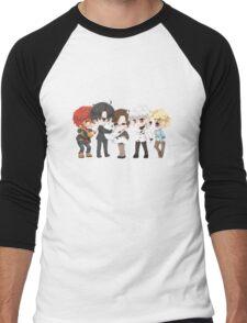 Mystic Messenger Print Men's Baseball ¾ T-Shirt