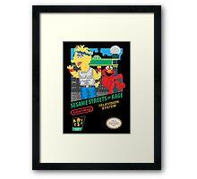 Sesame Streets of Rage Framed Print