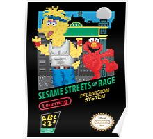 Sesame Streets of Rage Poster