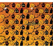 Halloween wallpaper Photographic Print